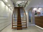 Treppe zum Klinikbereich